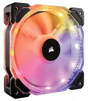 Corsair - HD120 Computer case Fan 120mm Controller 6port Hub with 12 x RGB LEDs Photo