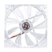 Thermaltake Tt eSports Pure 14 LED Fan - Transparent Red Photo