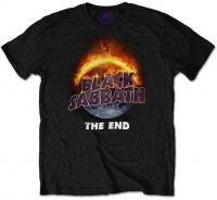Black Sabbath - The End Mens Black T-Shirt Photo