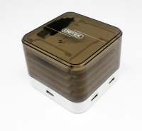 Unitek 4-Port USB Charge Station with Cable Tidy Photo