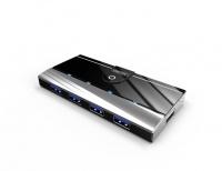 Unitek USB3.0 4-Port Hub With 1-Port 5V 2A Charger Photo
