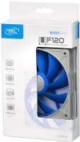 DeepCool UF120 Ultra Silent Fan with Patented De-Vibration TPE Cover Photo