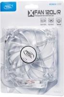 DeepCool XFAN 120 L/R Transparent Case Fan - Red LED Photo