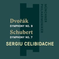 Schubert Schubert / Celibidache / Celibidache Serg - Schubert: Symphony 7 Unfinished / Dvorak: Sym 9 Photo