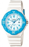Casio Standard Colletion LRW-200H Analog Watch - White and Blue Photo