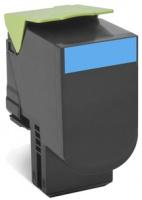 Lexmark 70C8XC0 Cyan Extra High Yield Laser Toner and Cartridge Photo