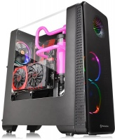 Thermaltake View 28 RGB Riing Edition Mid-Tower Chassis - Black Photo