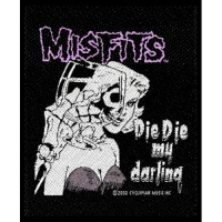 The Misfits - Die Die My Darling Sew On Patch Photo