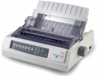 OKI Ml3320 9-Pin 80-Column Dot Matrix Printer Photo