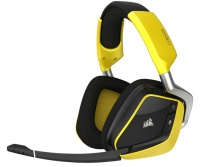 Corsair Gaming Void Pro RGB Wireless SE Dolby 7.1 Gaming Headset - Yellow Photo