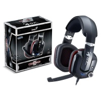 Genius HS-G700V Cavimanus Binaural Head-band Headset - Black Photo