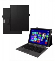 Tuff Luv Tuff-Luv - Smart Faux Leather Case Cover & Stand for Microsoft Surface Pro 4 - Black Photo
