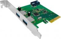Unitek 2-Port USB 3.1 piecesI Express Card Photo