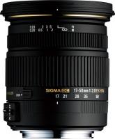 Sigma 17-50mm F2.8 EX DC OS HSM Lens Photo