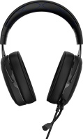 Corsair HS50 Binaural Head-band Carbon Stereo Gaming Headset - Black/Blue Photo