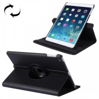 Tuff Luv Tuff-Luv Rotating Leather Case Cover and Stand for Apple iPad 9.7 2017 and Air 2 - Black Photo