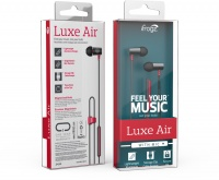 ifrogz Luxe Air In-Ear Headphones with Mic - Red Photo