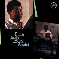 Ella Fitzgerald & Louis Armstrong - Ella & Louis Again - Limited Edition In Solid Green Colored Vinyl. Photo
