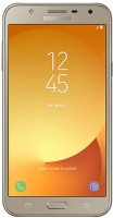 "Samsung Galaxy J7 Neo 5.5"" LTE Dual Sim 16GB Internal Memory Smartphone - Gold Photo"