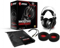 MSI Immerse GH60 Over-Ear Gaming Headphones with Microphone Photo