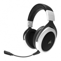 Corsair HS60 7.1 Surround USB Dongle Gaming Headset - White Photo