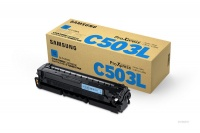 Samsung HP - CLT-C503L Cyan Toner Cartridge Photo