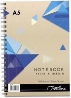 Treeline - A5 Spiral Notebook Side Bound Wiro - 100 Page Photo