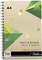 Treeline - A4 Spiral Note Books Side Bound Wiro 100 pg Photo