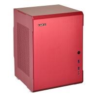 Lian Li - PC-Q34 Mini-ITX Computer Chassis - Red Photo