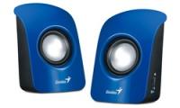 Genius Stereo USB Powered Speakers SP-U115 - Blue Photo
