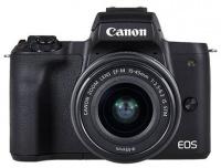 Canon - M50 EF-M 15-45mm f/3.5-6.3 IS STM EF-M 22mm f/2 STM Mirrorless DSLR Digital Camera Photo