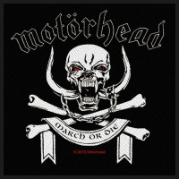 Motorhead March or Die Sew On Patch Photo