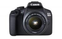 Canon 2000D DSLR EF-S 18-55mm f/3.5-5.6 IS 2 & EF 75-300mm f/4-5.6 3 Lens Photo