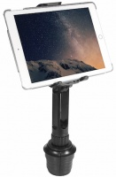 Macally 25cm Car Cup Mount Tablet Holder for Apple iPad - Black Photo