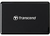 Transcend USB 3.1 Multi-Card Reader - Black Photo