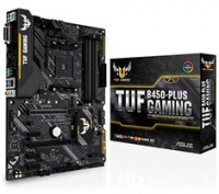 ASUS - TUF B450-PLUS GAMING Socket AM4 AMD B450 ATX Motherboard Photo