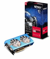 Sapphire Radeon Nitro RX 590 8GB GDDR5 Dual HDMI/ DVI-D/ Dual DP OC w/ Backplate Special Edition PCI-E Graphic Card Photo