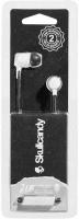 Skullcandy JIB In-Ear Headphones Earbuds with Microphone - White/Black Photo