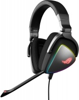 ASUS - ROG Delta RGB gaming headset with Hi-Res ESS Quad-DAC Photo