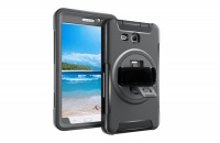 Tuff Luv Tuff-Luv Armour Jack Rugged Rotating Case Cover and Stand for Samsung Galaxy Tab A 10.5 - Black Photo