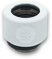 EK Water Blocks EKWB EK-HDC Compression Fitting 12mm G1/4 - White Photo