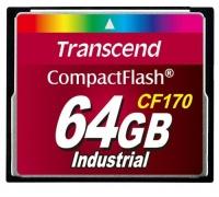 Transcend TS64GCF170 CF170 CompactFlash Memory Card 64GB Photo