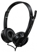 Rapoo H120 USB Wired Headset - Black Photo