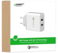 Ugreen - Quick Charge 3.0 Dual USB Wall Charger Photo