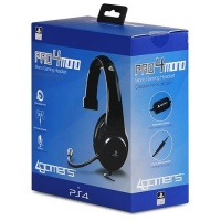 4Gamers - Playstation 4 Officially Licensed PRO4-MONO Gaming Headset - Black Photo