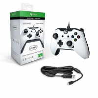 PDP - Wired Controller with 3.5 mm Headset Jack - White Photo