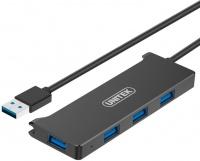 Unitek USB 3.0 4-Port Hub - Black Photo