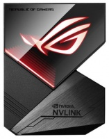 ASUS ROG-NVLink 3-Slot Bridge with Aura Sync RGB Photo