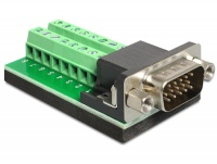 DeLOCK Adaptor VGA Male -Term Block 15 Pin Photo