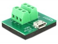 DeLOCK USB2.0 Micro-B F Terminal Block Photo